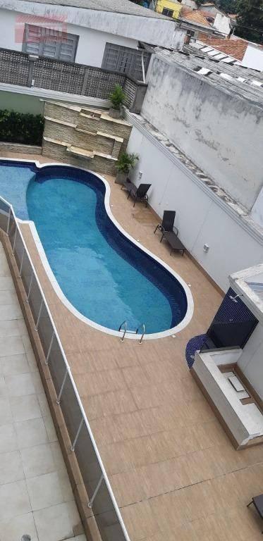 apartamento residencial para locação, jardim bela vista, santo andré. - ap1777