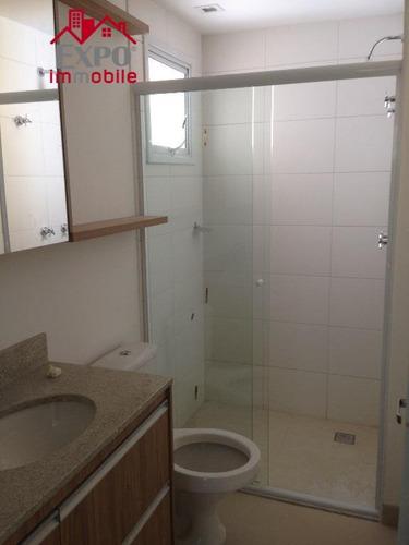 apartamento  residencial para locação, jardim brasil, campinas. - ap0166