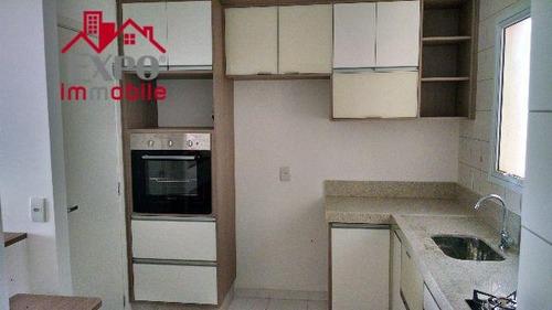 apartamento  residencial para locação, jardim das oliveiras, campinas. - ap0306