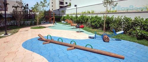 apartamento residencial para locação, jardim esplanada ii, são josé dos campos - ap3137 - ap3137