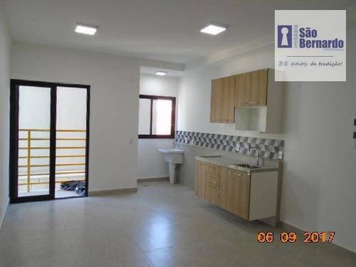apartamento residencial para locação, jardim girassol, 1ª locação, americana. - ap0722