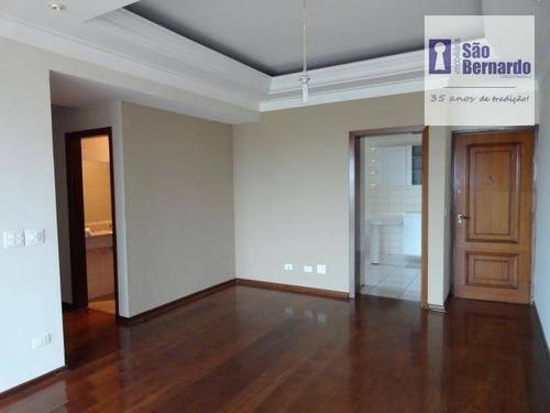 apartamento  residencial para locação, jardim girassol, americana. - ap0367