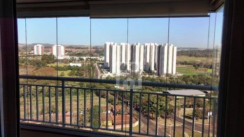 apartamento residencial para locação, jardim nova aliança sul, ribeirão preto. - ap0692