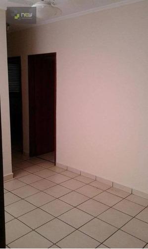 apartamento  residencial para locação, jardim paulistano, ribeirão preto. - ap0605