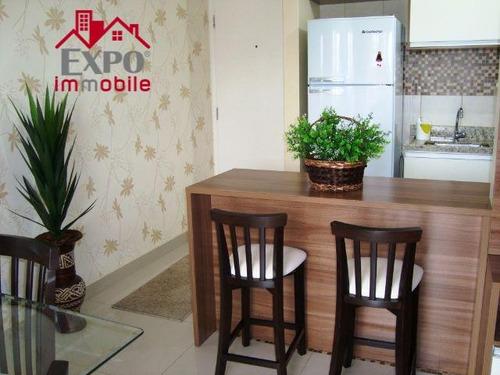 apartamento residencial para locação, jardim santa genebra, campinas. - ap0382