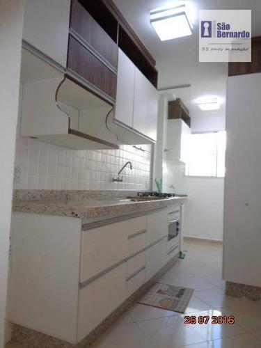 apartamento residencial para locação, jardim são domingos, americana. - ap0540