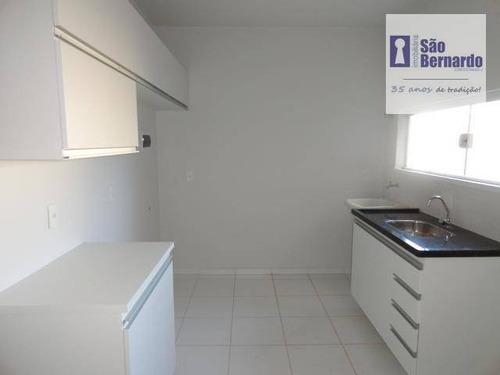 apartamento residencial para locação, jardim terramérica i, americana. - ap0291