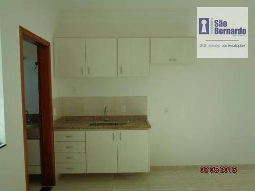 apartamento residencial para locação, jardim terramérica ii, americana. - ap0490