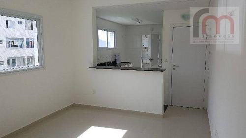 apartamento residencial para locação, josé menino, santos. - codigo: ap2150 - ap2150