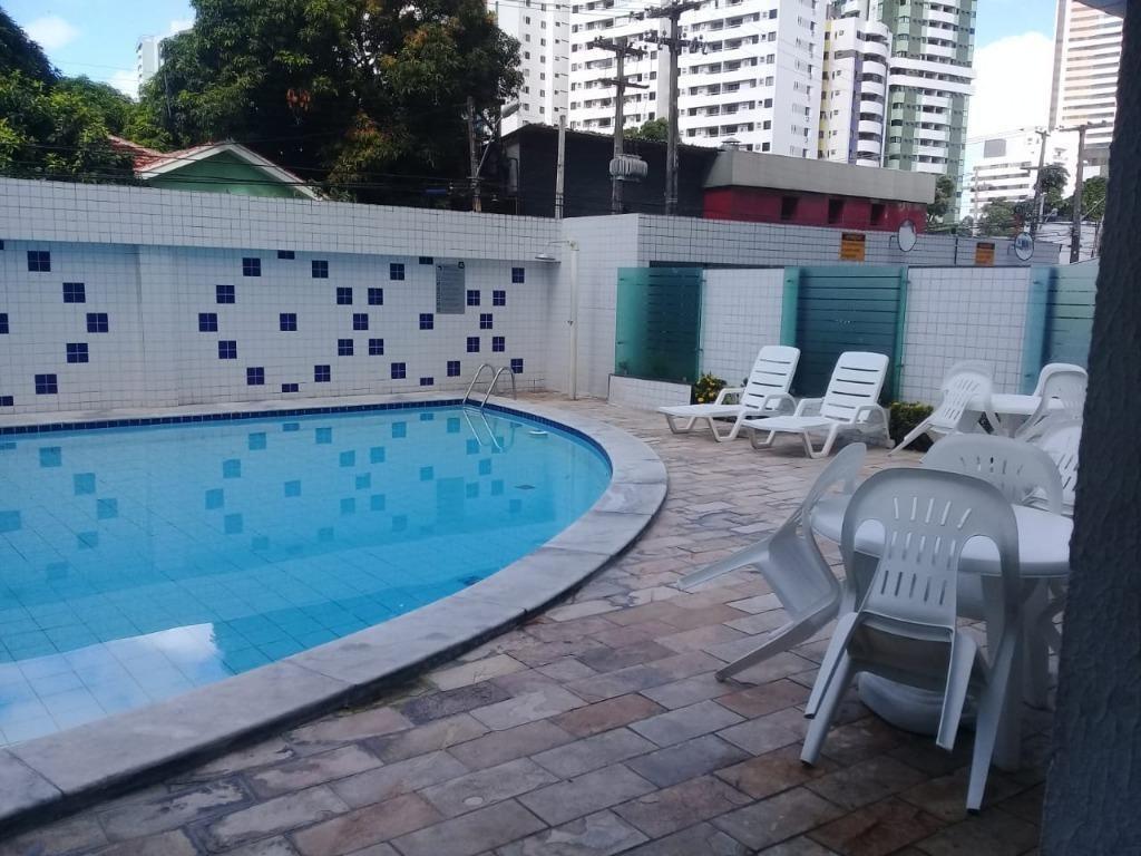 apartamento residencial para locação, madalena, recife. - ap2754