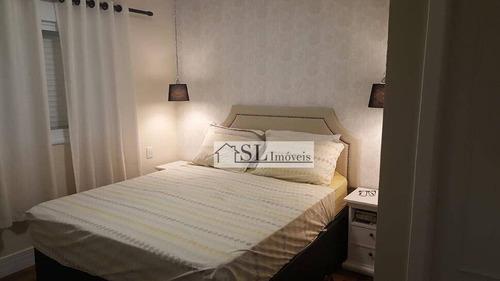 apartamento residencial para locação, mansões santo antônio, campinas. - ap0539