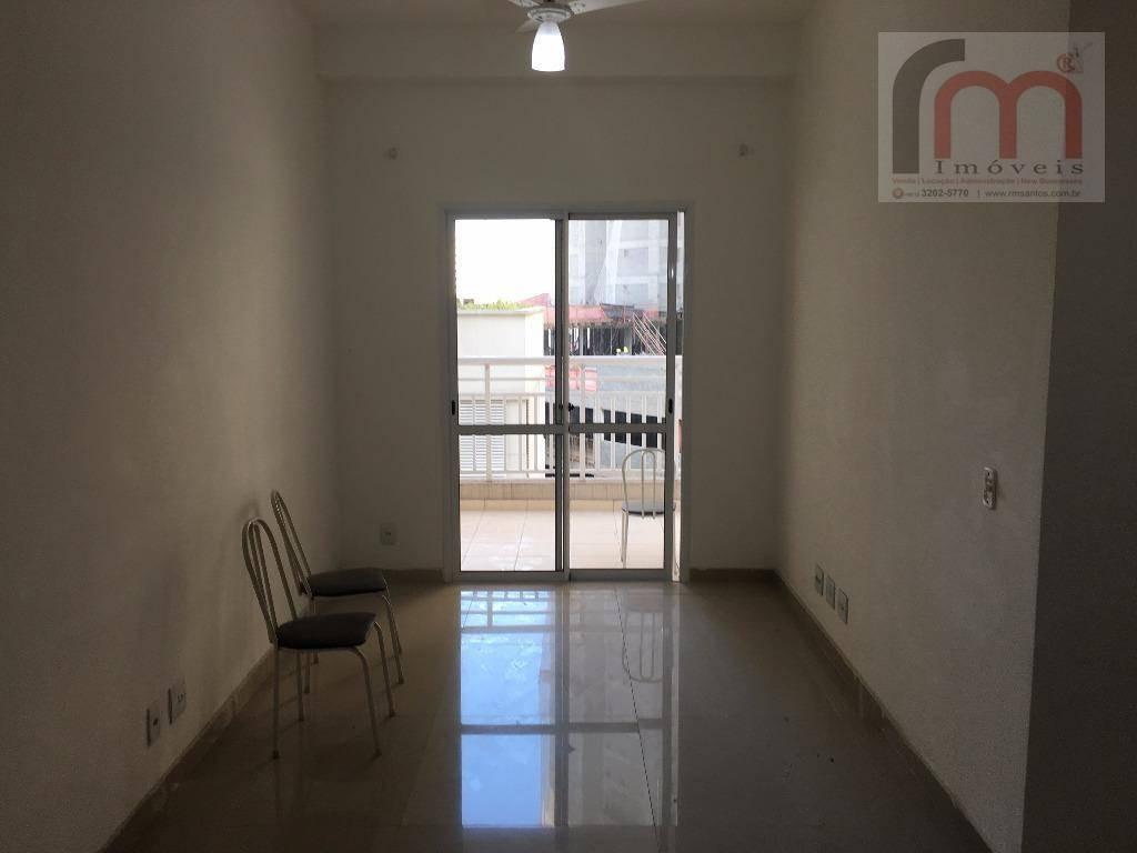 apartamento residencial para locação, marapé, santos - ap1798. - ap1798