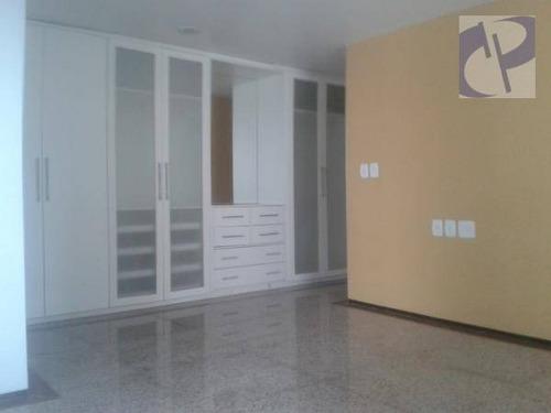 apartamento residencial para locação, meireles, fortaleza. - ap1336