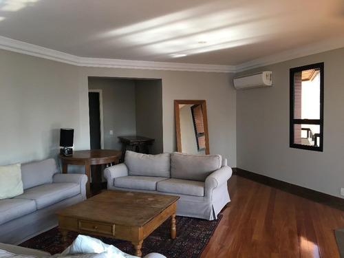 apartamento residencial para locação, moema, são paulo. - ap1653