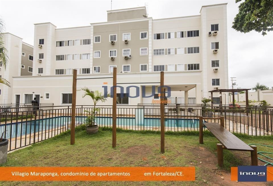 apartamento residencial para locação, mondubim, fortaleza. - ap0277