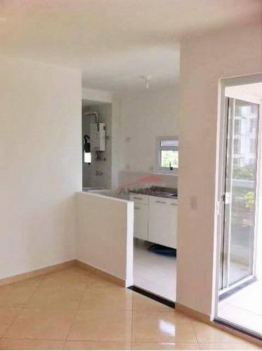 apartamento residencial para locação, ótima localização na vila assunção, próximo ao parque central, santo andré. - ap1316