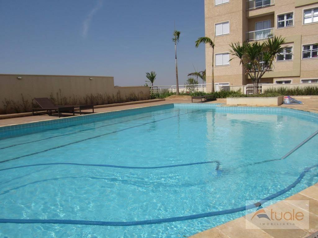 apartamento residencial para locação, parque bom retiro, paulínia. - ap3645