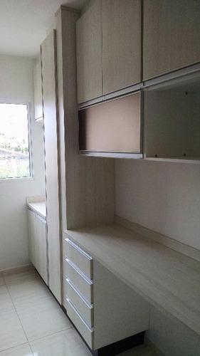 apartamento residencial para locação, parque planalto, santa bárbara d'oeste. - codigo: ap0323 - ap0323