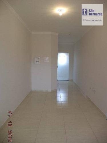 apartamento residencial para locação, parque residencial jaguari, americana. - ap0623