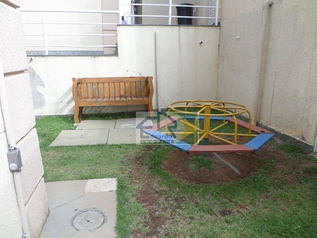 apartamento residencial para locação, parque santa rosa, suzano. - ap0116