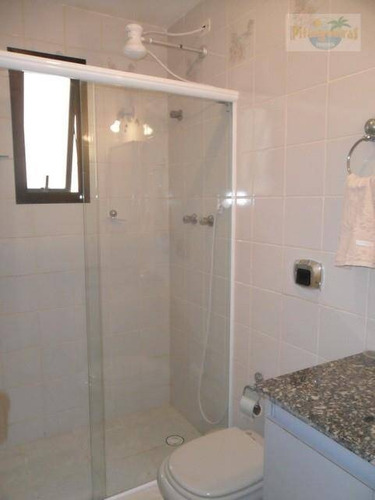 apartamento  residencial para locação, pitangueiras, guarujá. - ap2220