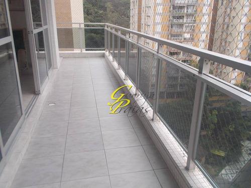 apartamento residencial para locação, pitangueiras, guarujá. - codigo: ap2312 - ap2312
