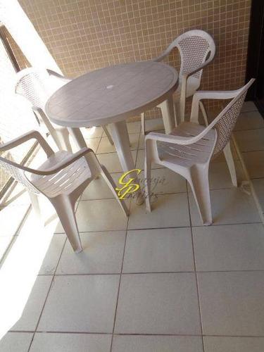 apartamento residencial para locação, pitangueiras, guarujá. - codigo: ap2491 - ap2491