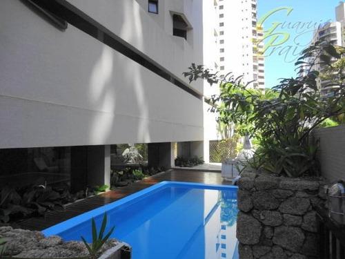 apartamento residencial para locação, pitangueiras, guarujá. - codigo: ap2512 - ap2512