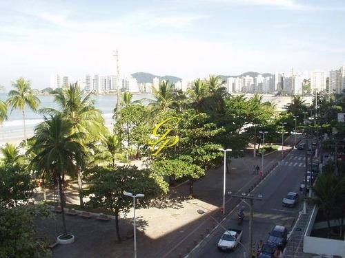 apartamento residencial para locação, pitangueiras, guarujá. - codigo: ap2710 - ap2710