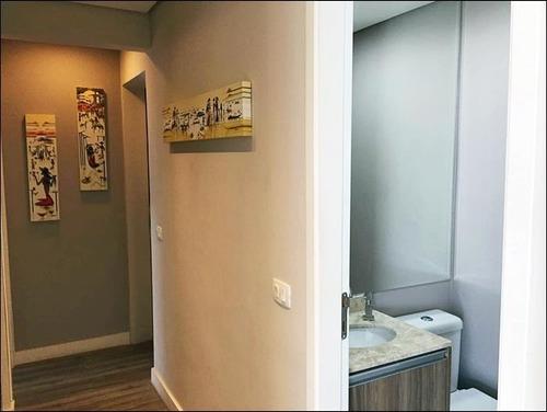 apartamento residencial para locação, ponta da praia, santos - ap0507. - ap0507