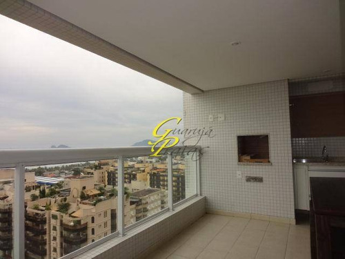 apartamento residencial para locação, praia da enseada, guarujá. - codigo: ap0278 - ap0278