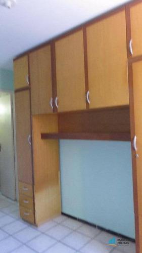 apartamento residencial para locação, tabapuá, caucaia. - codigo: ap2840 - ap2840