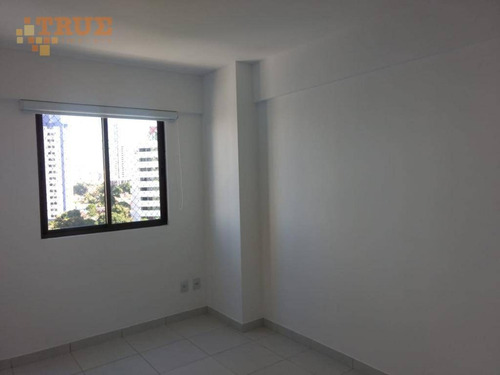 apartamento residencial para locação, torre, recife. - ap2677