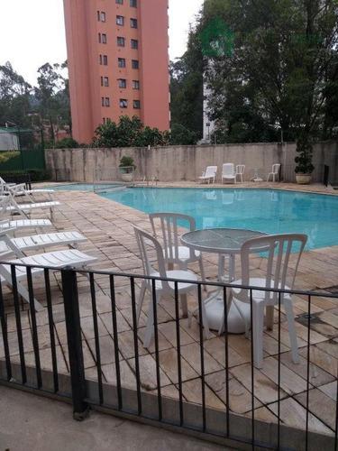 apartamento residencial para locação, vila andrade, são paulo. - ap0251