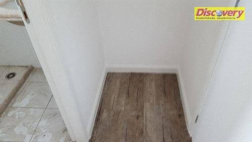 apartamento  residencial para locação, vila augusta, guarulhos. - ap0408