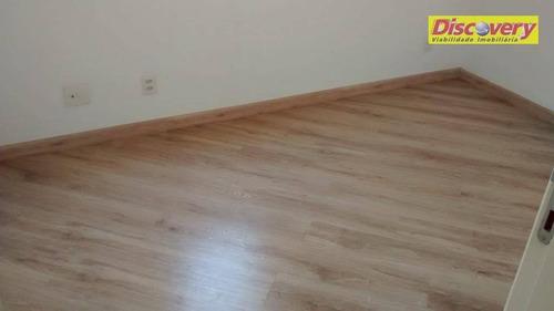 apartamento residencial para locação, vila augusta, guarulhos. - ap0443