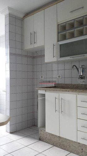 apartamento  residencial para locação, vila campestre, são paulo. - ap0131