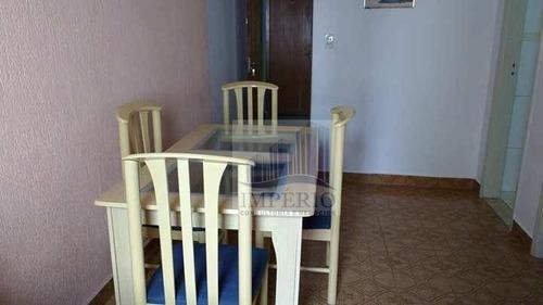 apartamento residencial para locação, vila guilhermina, praia grande. - ap0149