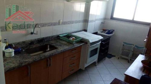 apartamento residencial para locação, vila guilhermina, praia grande. - ap0486