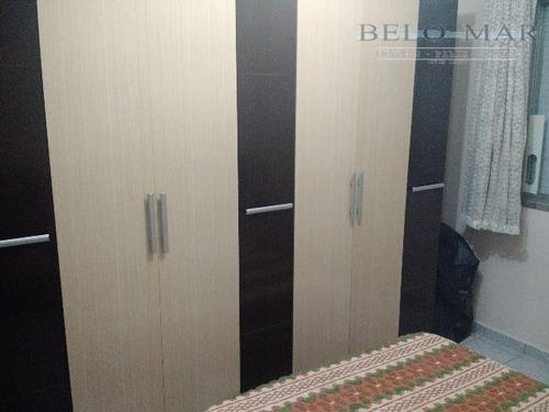 apartamento residencial para locação, vila guilhermina, praia grande. - codigo: ap1101 - ap1101
