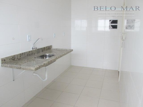 apartamento residencial para locação, vila guilhermina, praia grande. - codigo: ap1109 - ap1109