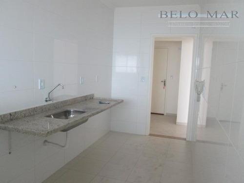 apartamento residencial para locação, vila guilhermina, praia grande. - codigo: ap1110 - ap1110