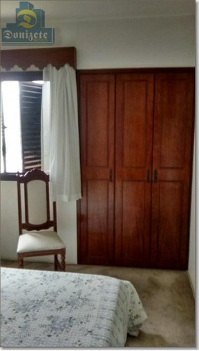 apartamento residencial para locação, vila guiomar, santo andré. - ap1243