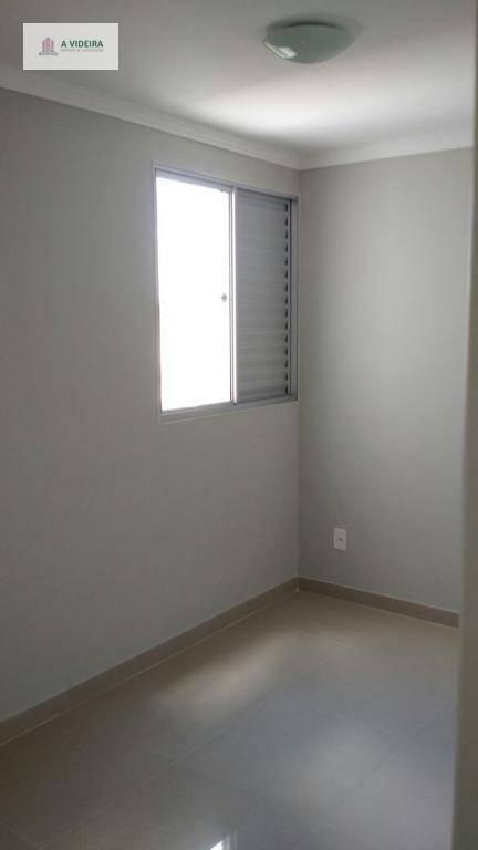 apartamento residencial para locação, vila homero thon, santo andré. - ap0555