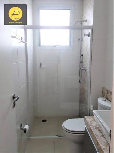 apartamento residencial para locação, vila oliveira, mogi das cruzes. - ap0154