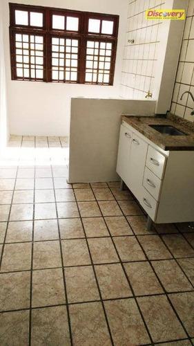 apartamento residencial para locação, vila rio de janeiro, guarulhos. - ap0461