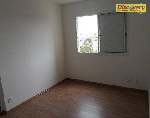 apartamento  residencial para locação, vila santo antônio, guarulhos. - ap0223