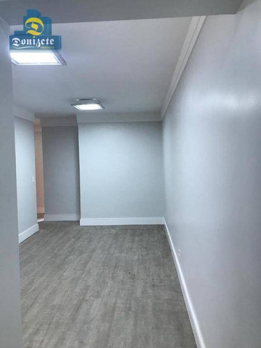 apartamento residencial para locação, vila scarpelli, santo andré. - ap9577