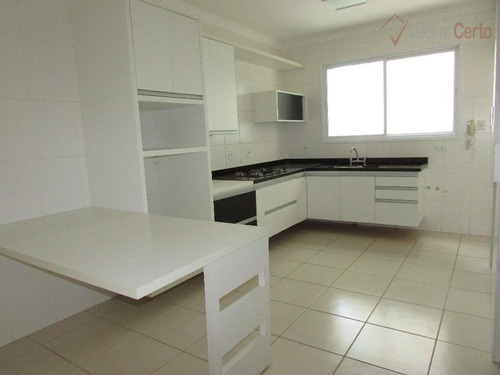 apartamento residencial para locação, vila sfeir, indaiatuba. - ap0058
