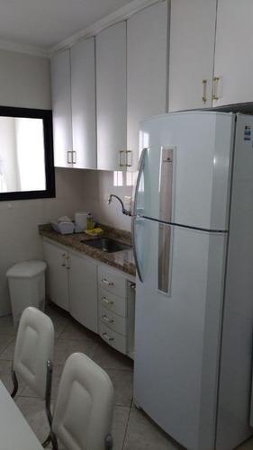 apartamento residencial para locação, vila tupi, praia grande. - ap0136
